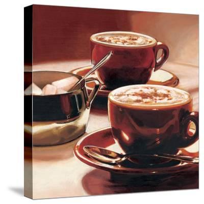 Tazze con Cappuccino-Federico Landi-Stretched Canvas Print