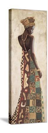 Femme Africaine III-Jacques Leconte-Stretched Canvas Print
