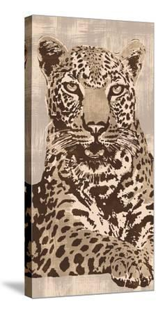 Leopard-Andrew Cooper-Stretched Canvas Print