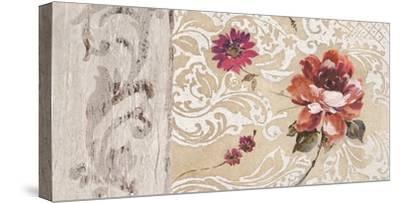 Fleurs Neoclassique I-Hélene Simon-Stretched Canvas Print