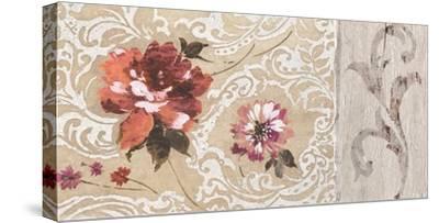 Fleurs Neoclassique II-Hélene Simon-Stretched Canvas Print
