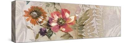 Florilege II-Hélene Simon-Stretched Canvas Print