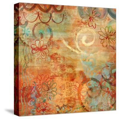 Happy Days I-Emily Dunn-Stretched Canvas Print