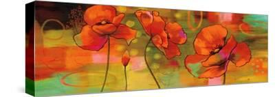 Magical Poppies-Nicole Sutton-Stretched Canvas Print