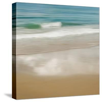 Surf and Sand II-John Seba-Stretched Canvas Print