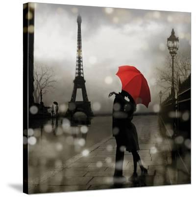 Paris Romance-Kate Carrigan-Stretched Canvas Print