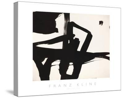 Untitled, 1950-Franz Kline-Stretched Canvas Print