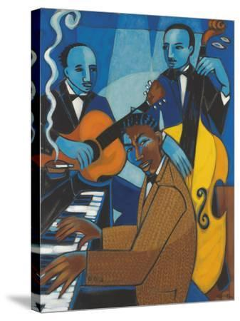 Unforgettable (Nat King Cole)-Marsha Hammel-Stretched Canvas Print
