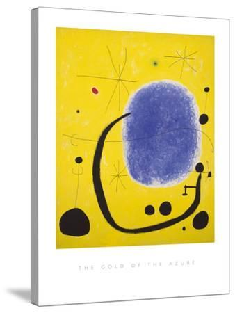 The Gold of the Azure, 1967-Joan Mir?-Stretched Canvas Print