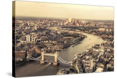 Heart of the City-Joseph Eta-Stretched Canvas Print