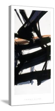 Horizontal Rust-Franz Kline-Stretched Canvas Print