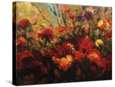 Autumn Florals-Kanayo Ede-Stretched Canvas Print