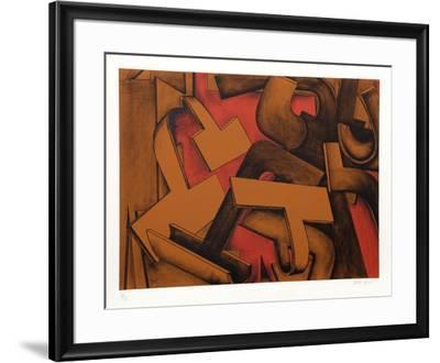 Untitled 27-Jasha Green-Framed Limited Edition