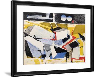 Untitled 11-Jasha Green-Framed Limited Edition