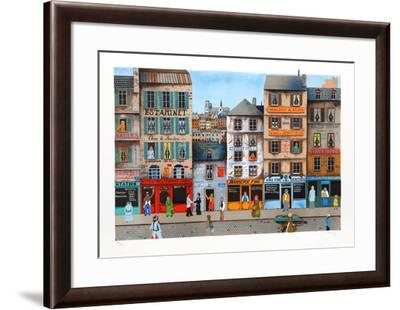 Downtown- Delcroy-Framed Limited Edition