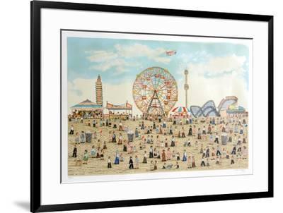 Coney Island-Vestie Davis-Framed Limited Edition