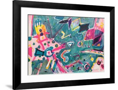 Space Scope-Jay Milder-Framed Limited Edition