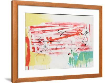 Untitled - Abstract with Sun-Dimitri Petrov-Framed Limited Edition