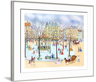 Promenade at the Square-Claude Tabet-Framed Collectable Print