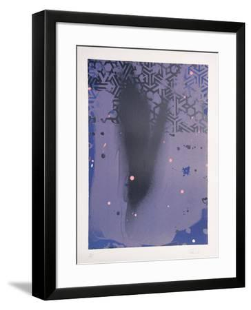 Untitled (Purple)-Hong Hao-Framed Limited Edition