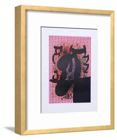The Bather from Indelible Miro-Joan Mir?-Framed Art Print