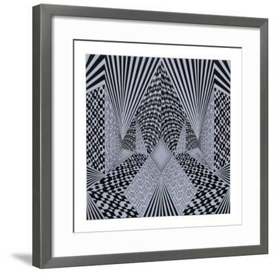 Conceptual Perspective II-Roy Ahlgren-Framed Limited Edition