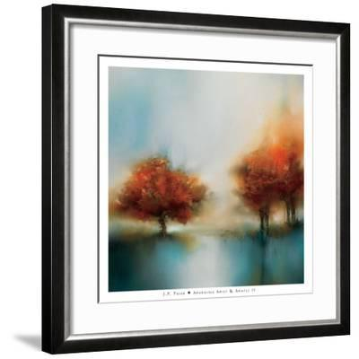 Morning Mist & Maple II-J^P^ Prior-Framed Art Print