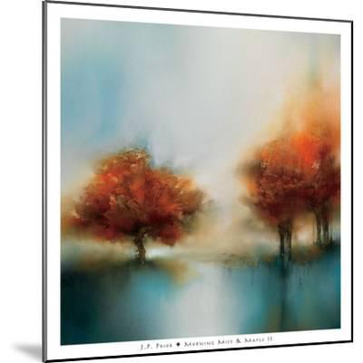 Morning Mist & Maple II-J^P^ Prior-Mounted Art Print