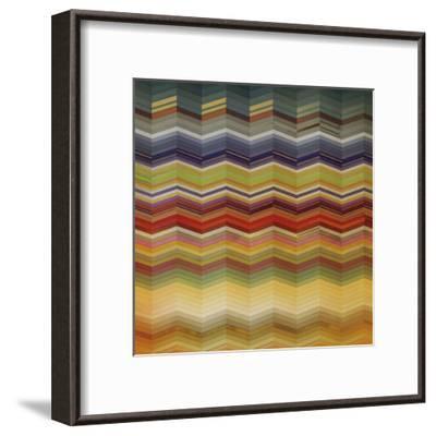Color & Cadence I-Noah Li-Leger-Framed Art Print
