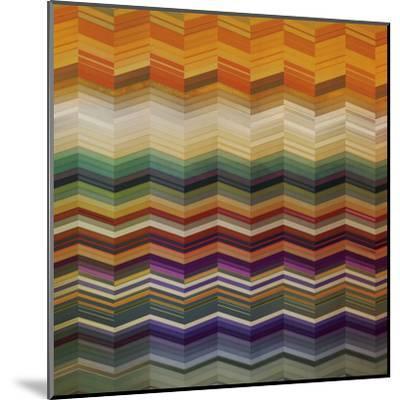 Color & Cadence II-Noah Li-Leger-Mounted Art Print