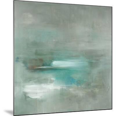 Misty Pale Azura Sea-Heather Ross-Mounted Art Print