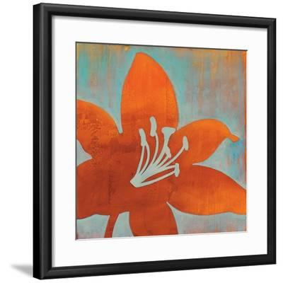Cosmic Bloom I-Stacy D'Aguiar-Framed Art Print