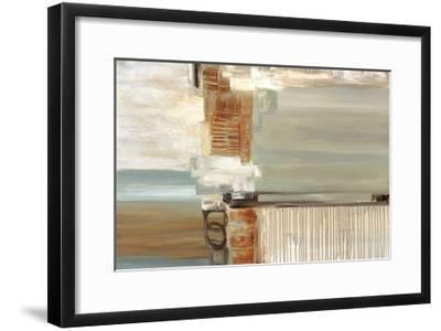 Chiffon-Cat Tesla-Framed Giclee Print