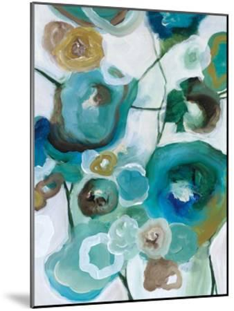 Sapphire Blooms I-Cat Tesla-Mounted Giclee Print