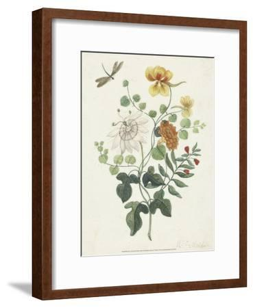 Still Life with Flowers, 1662-Machtelt Moninckx-Framed Art Print
