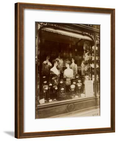 Boulevard de Strasbourg, 1912-Eug?ne Atget-Framed Art Print