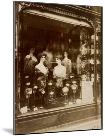 Boulevard de Strasbourg, 1912-Eug?ne Atget-Mounted Art Print