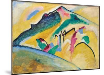 Herbstlandschaft (1911)-Wassily Kandinsky-Mounted Art Print