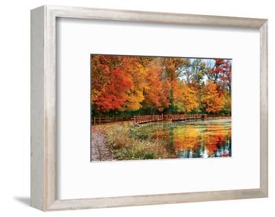 Sharon Woods - Ohio--Framed Art Print