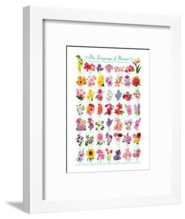 Language of Flowers--Framed Art Print