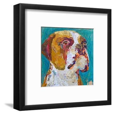 Beach Boxer--Framed Art Print