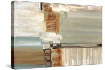Chiffon-Cat Tesla-Stretched Canvas Print