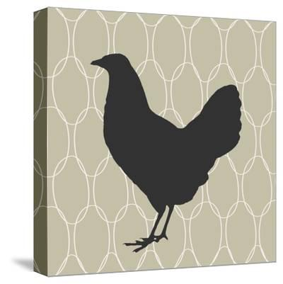 Cluck, Cluck-Sabine Berg-Stretched Canvas Print
