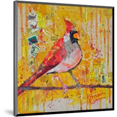Femail Cardinal--Mounted Art Print