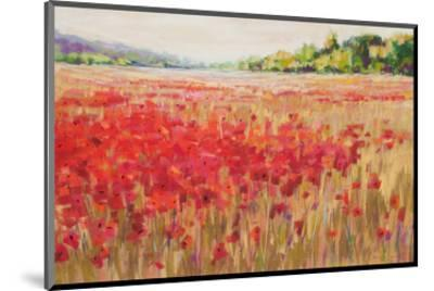Poppies And Trees VI--Mounted Art Print