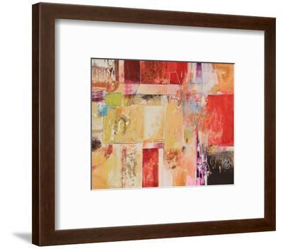 Copper And Red Series 4--Framed Art Print
