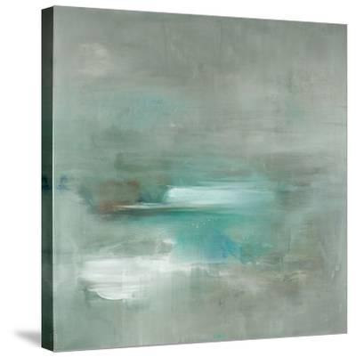 Misty Pale Azura Sea-Heather Ross-Stretched Canvas Print
