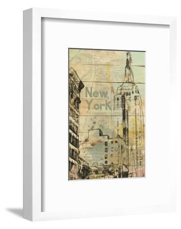 New York, New York--Framed Art Print