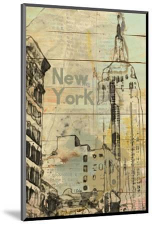 New York, New York--Mounted Art Print