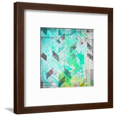 Inspirational Blue--Framed Art Print